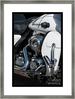 Harley Davidson 15 Framed Print by Wendy Wilton