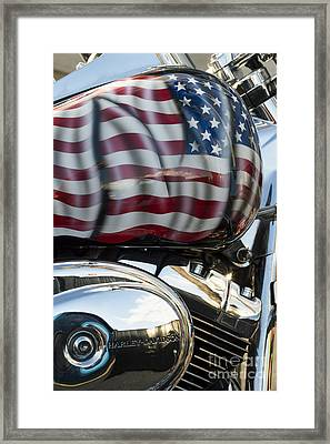 Harley Davidson 7 Framed Print by Wendy Wilton