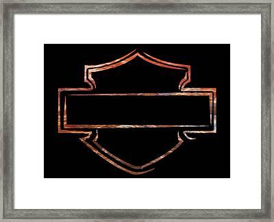 Harley Davidson  Framed Print