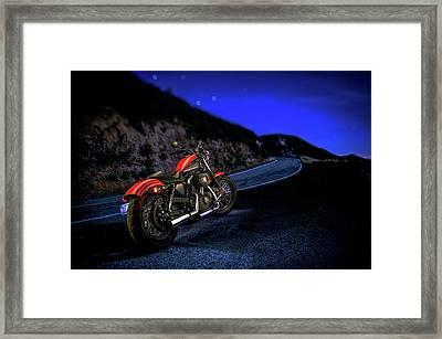 Harley Davidson Nightster Framed Print