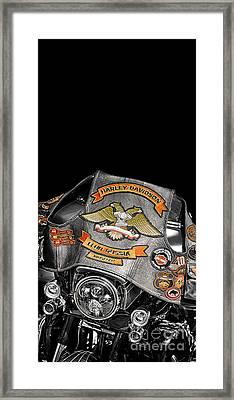 Harley Davidson Russia Club Framed Print by Stefano Senise