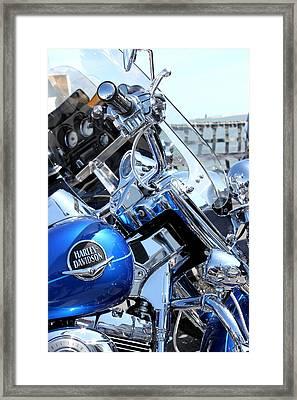 Harley-davidson Framed Print by Valentino Visentini