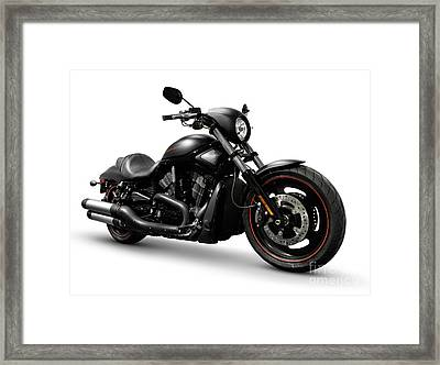 Harley Davidson Vrscd Night Rod Special  Framed Print