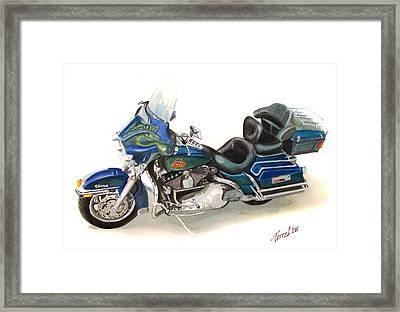 Harley Electraglyde Framed Print by Ferrel Cordle