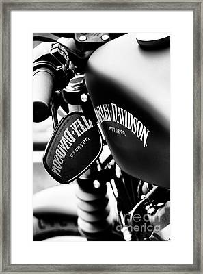 Harley Iron 883 Framed Print