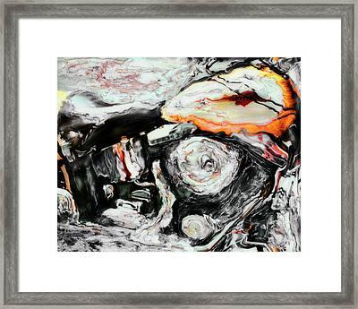 Harley Framed Print by Paul Tokarski