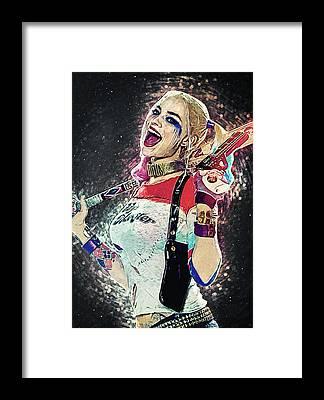 Harley Quinn Framed Prints