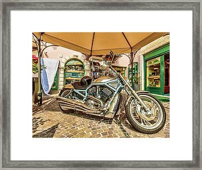 Harley Framed Print by Roy McPeak