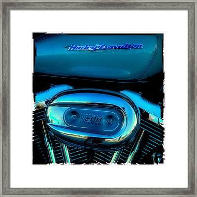 Harley Sportster 1200 Framed Print