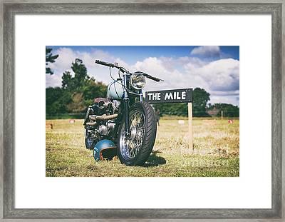 Harley Tiger 45 Framed Print by Tim Gainey