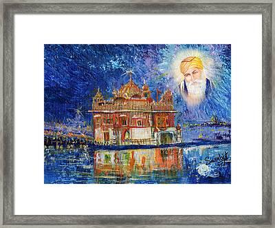 Harmandir Sahib Framed Print