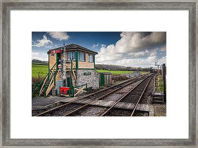 Harmans Cross Framed Print