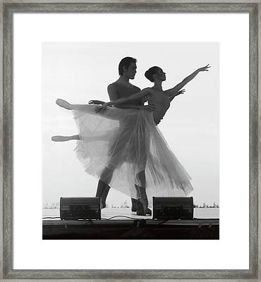 Harmonic Performance Framed Print by Daniel Hagerman