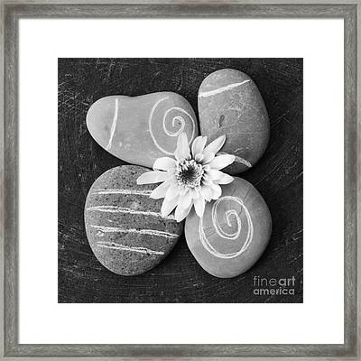 Harmony And Peace Framed Print