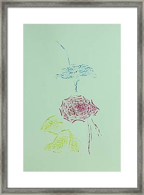 Harmony Framed Print by Contemporary Michael Angelo