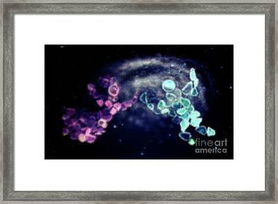Harmony In Space Framed Print