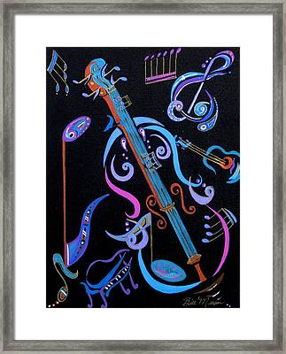 Harmony In Strings Framed Print