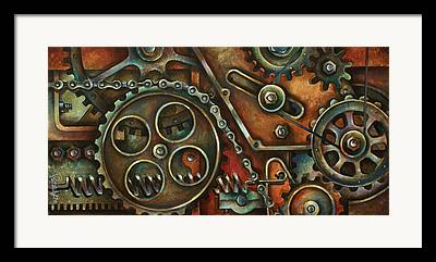 Chains Framed Prints
