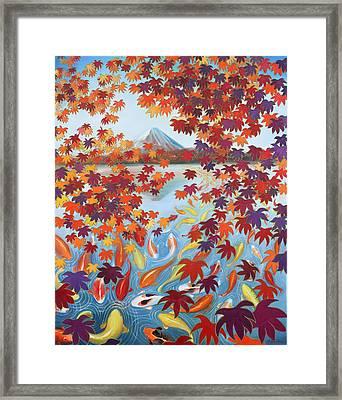 Harmony No.2 Autumn Framed Print