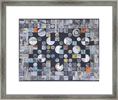 Harmony Of Earth And Moon Framed Print by Diana Perfect