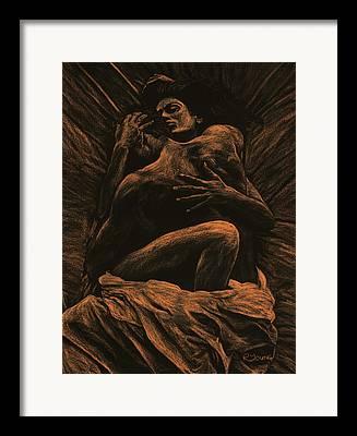 Semi-nude Framed Prints