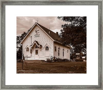 Harmony School Framed Print