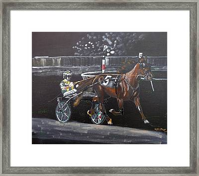 Harness Racing Framed Print