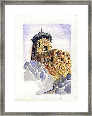 Harney Peak Framed Print by Rodger Ellingson