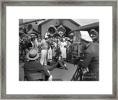Harold Lloyd (1893-1971) Framed Print by Granger