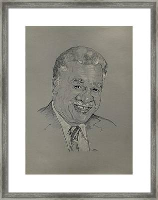 Harold Washington  Framed Print