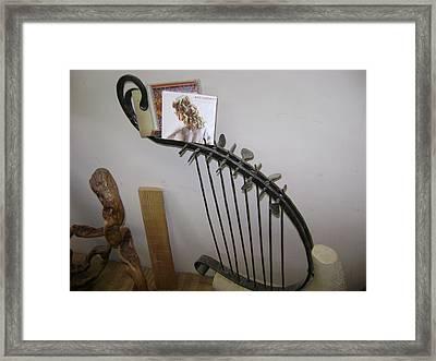 Harp Framed Print