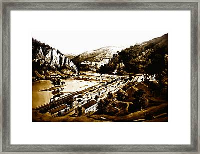 Harpers Ferry Framed Print by Bill Cannon