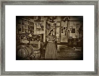 Harpers Ferry General Store Framed Print by Bill Cannon