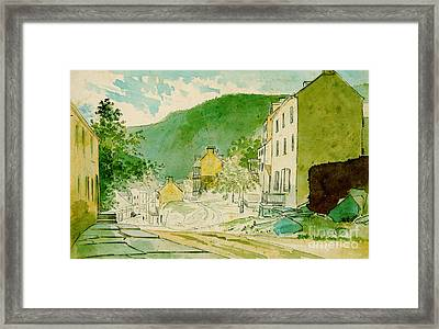 Harpers Ferry West Virginia 1873 Framed Print by Padre Art