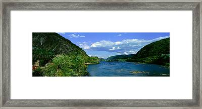 Harpers Ferry, West Virginia Framed Print by Panoramic Images