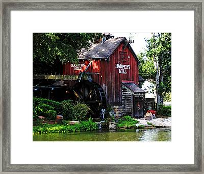 Harpers Mill Framed Print