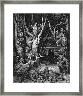 Harpies Framed Print