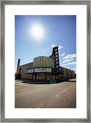 Harpos Concert Theatre - Detroit Michigan Framed Print by Gordon Dean II