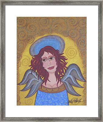 Harried Harriet Framed Print by Molly Roberts