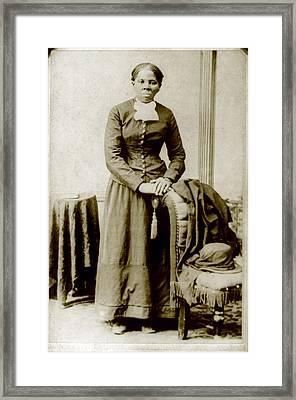 Harriet Tubman, Ca. 1860-75 Framed Print by Everett