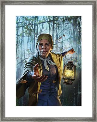 Harriet Tubman Framed Print