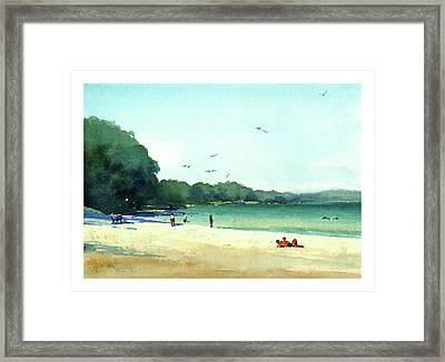 Harrington Beach, Wisconsin Framed Print