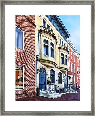 Harrisburg Pa - State Street Framed Print