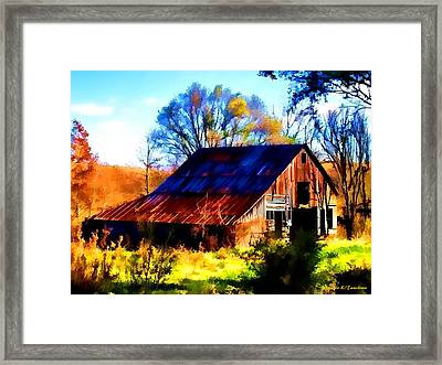 Harrison Barn Framed Print
