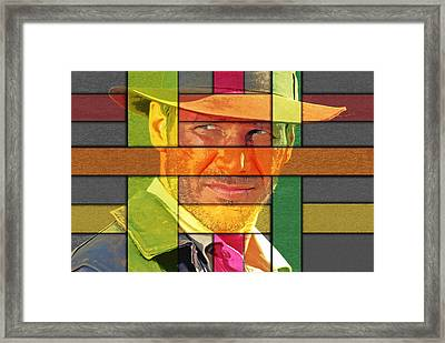 Harrison Ford Framed Print