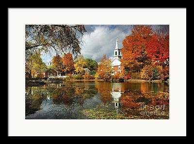 Steeples Framed Prints