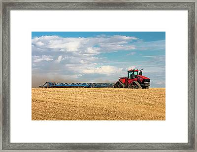 Harrow Cart Framed Print by Todd Klassy