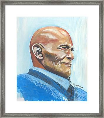 Harry Belafonte Framed Print