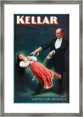 Harry Kellar (1849-1922) Framed Print by Granger