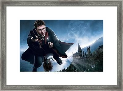 Harry Potter Daniel Radcliffe Framed Print